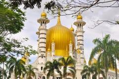 Ubudiah mosque. Built in 1913. Located at Kuala Kangsar, Perak, Malaysia Stock Photo