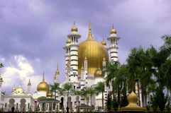 Ubudiah Mosque. Masjid Ubudiah is Perak's royal mosque, and is located in the royal town of Kuala Kangsar, Malaysia. It is often regarded as Malaysia's most Stock Images