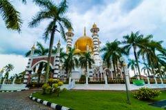 Ubudiah mosque. This ubudiah mosque located at kuala kangsar, perak malaysia Royalty Free Stock Photo