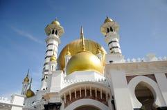 Ubudiah Mosque (Masjid Ubudiah) at Kuala Kangsar, Perak Royalty Free Stock Photos