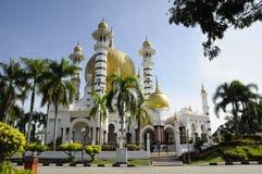 Ubudiah Mosque (Masjid Ubudiah) at Kuala Kangsar, Perak Royalty Free Stock Images