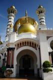 Ubudiah Mosque (Masjid Ubudiah) at Kuala Kangsar, Perak Royalty Free Stock Photo