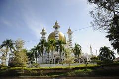 Ubudiah Mosque (Masjid Ubudiah) at Kuala Kangsar, Perak Royalty Free Stock Photography