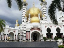 Ubudiah Royal mosque royalty free stock photography