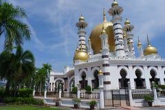 Ubudiyah-Moschee, Kuala Kangsar, Perak Lizenzfreies Stockbild