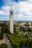 UC Berkeley Campanile Esplanade stock foto's