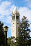 UC Berkeley Sather Tower Royalty Free Stock Images