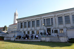 UC Berkeley. University of California Berkeley library Royalty Free Stock Images