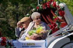UC Davis Picnic-dagparade Royalty-vrije Stock Foto's
