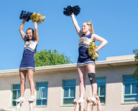 UC Davis Picnic day has started Royalty Free Stock Photos