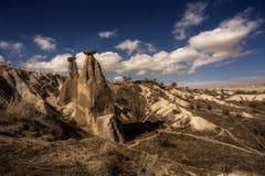 Uc hisar Cappadocia стоковые изображения