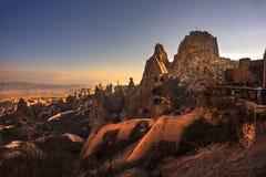 Uc hisar Cappadocia стоковое изображение rf