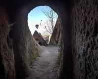 Uc hisar Cappadocia стоковая фотография