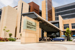 UC Irvine Douglas Hospital Stock Afbeeldingen