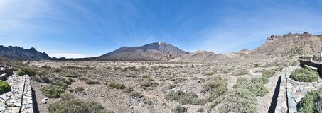 Ucanca Plains, tenerife Island royalty free stock photo
