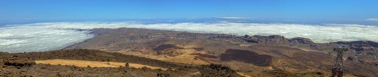 Ucanca Valley Panoramic Royalty Free Stock Images