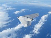 UCAV летая высоко Стоковая Фотография