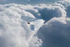 UCAV flying high Royalty Free Stock Photos