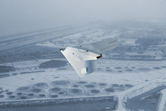 UCAV flying high Royalty Free Stock Images