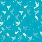 Uccelli del modello Fondo Fotografia Stock
