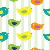 Uccelli di bambino Fotografie Stock