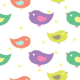 Uccelli di bambino Immagini Stock