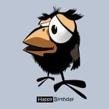 Uccelli di buon compleanno Immagini Stock Libere da Diritti