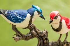 Uccelli meccanici Immagine Stock