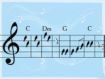 Uccelli musicali Fotografia Stock