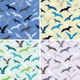 uccelli Reticolo senza giunte astratto Fotografia Stock