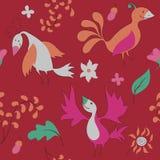 Uccelli svegli Immagine Stock