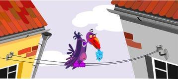 uccello illustrazione di stock