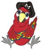 Uccello in black hat Illustrazione Vettoriale