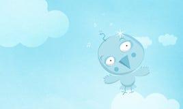 Uccello blu Immagini Stock