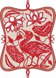 Uccello cinese Immagini Stock