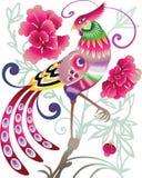 Uccello cinese Fotografia Stock