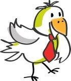 Uccello con il legame Fotografia Stock Libera da Diritti