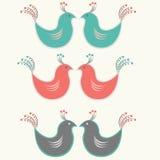 Uccello decorativo Fotografie Stock