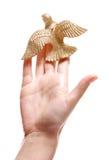 Uccello del biglietto di S. Valentino Fotografia Stock Libera da Diritti