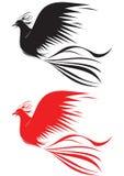 Uccello del fuoco Fotografie Stock Libere da Diritti