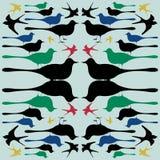 Uccello del modello Immagini Stock Libere da Diritti