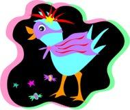 Uccello del partito di Mardi Gras Immagini Stock Libere da Diritti