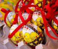 uccello del pollo dell'uovo di Pasqua Immagine Stock