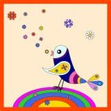 Uccello del Rainbow Immagine Stock