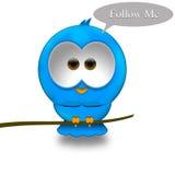 Uccello del Twitter Royalty Illustrazione gratis