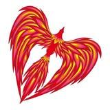 Uccello di amore illustrazione vettoriale