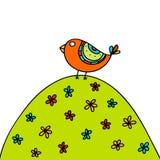Uccello di estate Fotografia Stock