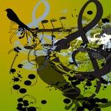 Uccello di musica royalty illustrazione gratis
