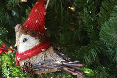 Uccello di Natale fotografia stock