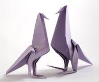 Uccello di origami Immagini Stock Libere da Diritti